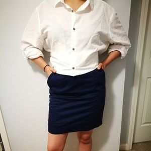 Navy Skirt (H&M)